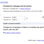 Translate As You Type, But Why?
