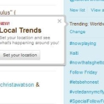 Twitter adds local search filter